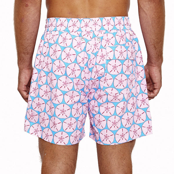 Mens Trunks (Sand Dollar Pink) Back