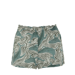 Bed-to-Beach Shorts: WHALE - MONOCHROME