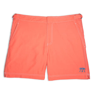 Mens Beach Shorts (Orange)