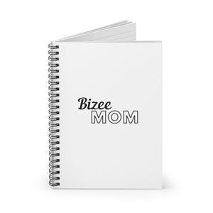 Bizee Mom Spiral Notebook - Ruled Line - Bizee Mom