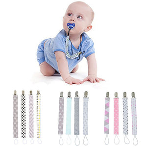 Pacifier Clip (4-pack) - Bizee Mom