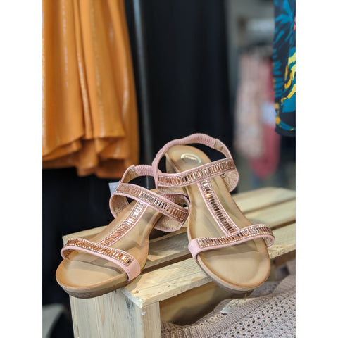 T Strap Sandals - Karmas Boutique YEG