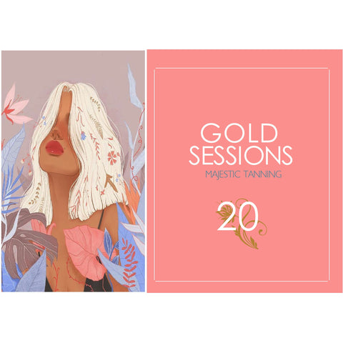 20 Gold Tanning Sessions - Karmas Boutique YEG