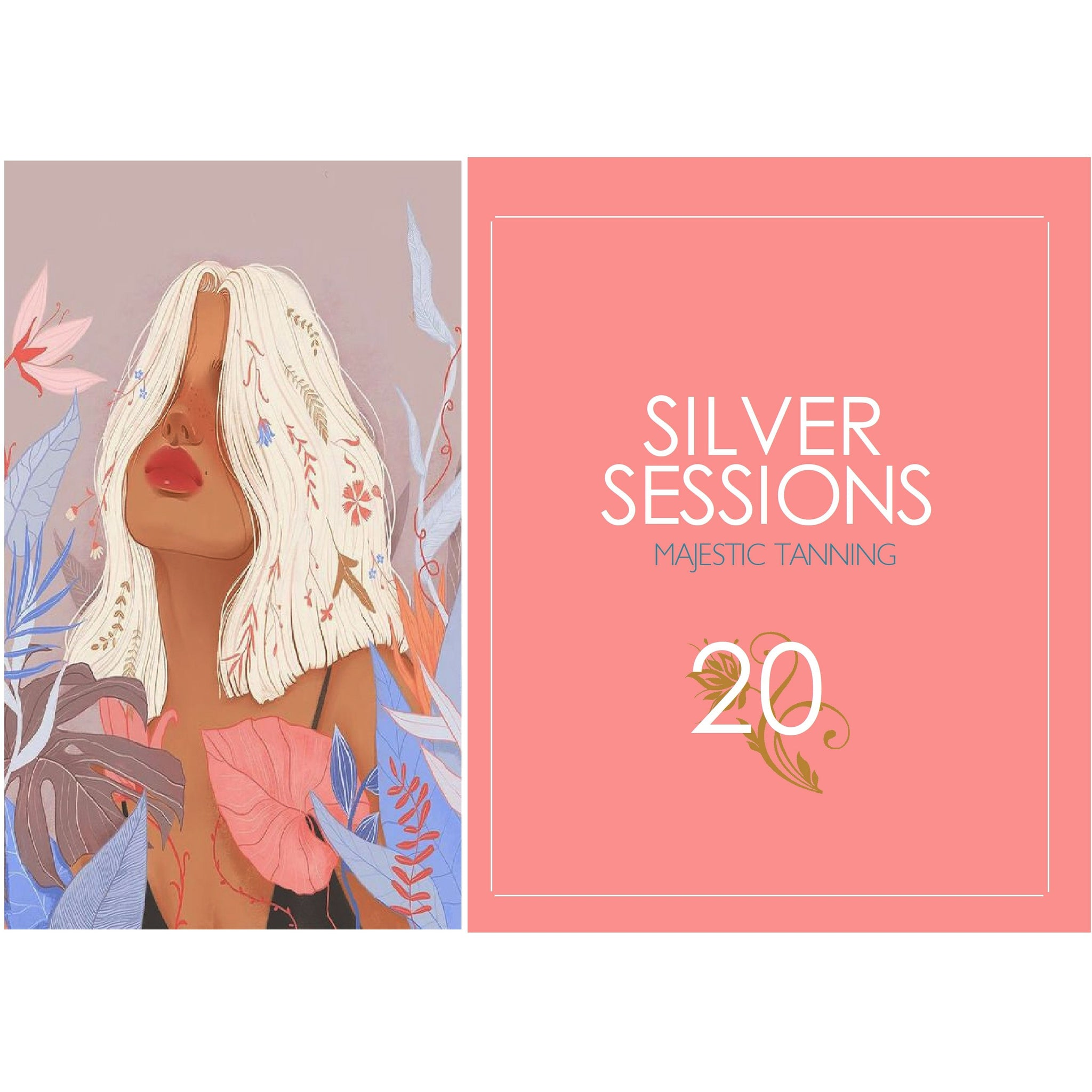 20 Silver Tanning Sessions - Karmas Boutique YEG