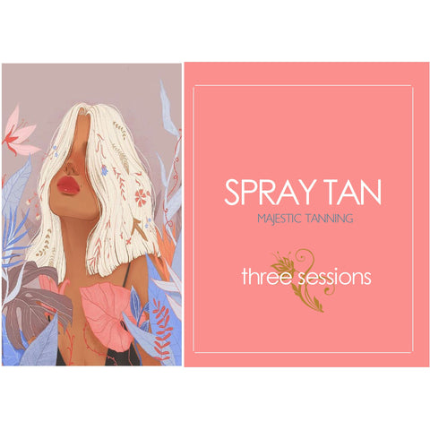 Spray Tan (3 sessions) VIP - Karmas Boutique YEG