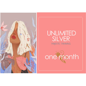 1 Month Unlimited Silver Tanning - Karmas Boutique YEG