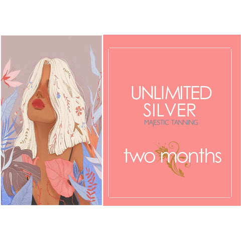 2 Month Unlimited Silver Tanning - Karmas Boutique YEG