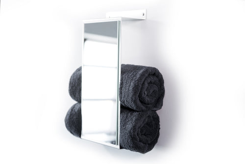 Towel Holder Metal with mirror - EWART WOODS Design