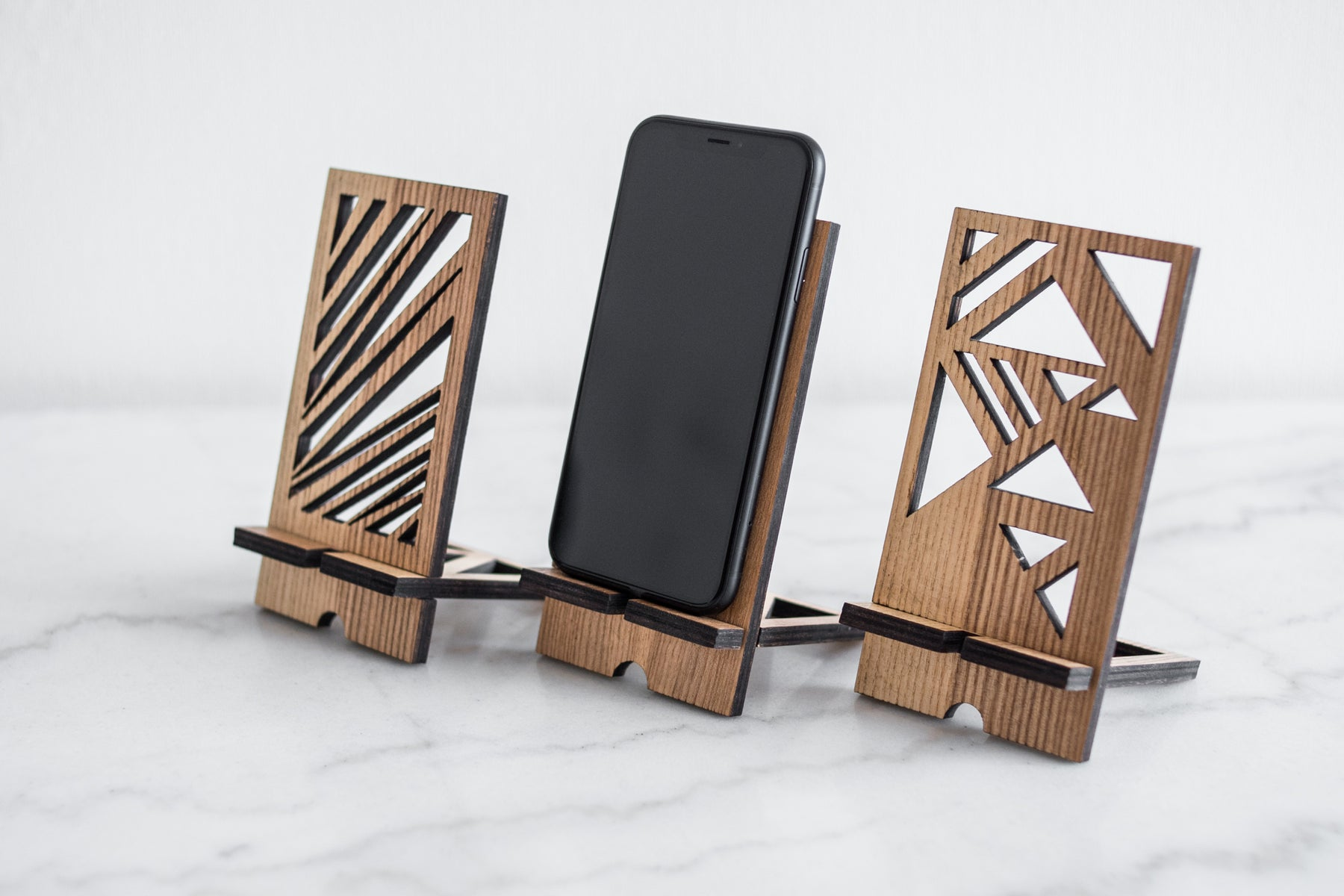 Wooden Phone Stand