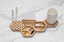 Load image into Gallery viewer, Wood Desk organizers wooden office table organizer table organization Desk accessories office organisation - EWART WOODS