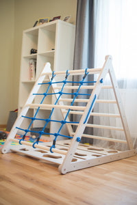 Triangle play equipment for Kids 3in1 Learning Play (Blue)
