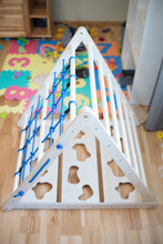 Load image into Gallery viewer, Triangle play equipment for Kids 3in1 Learning Play (Blue)