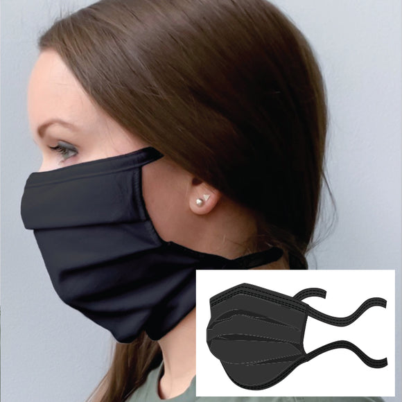 Anti-Microbial Double Layer Cotton Adjustable Face mask  - as low as $3.25/each