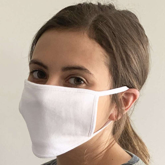 Adult 100% Cotton 2-Ply Face Mask