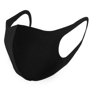 Black Reusable Fashion Mask