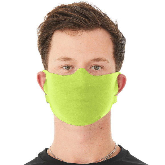 Anti-Microbial Daily Face mask  Safety Green