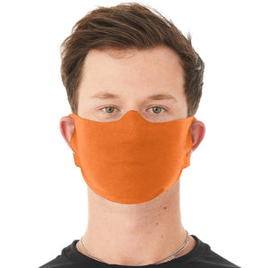 Anti-Microbial Face Mask -Orange - as low as $1.00/each