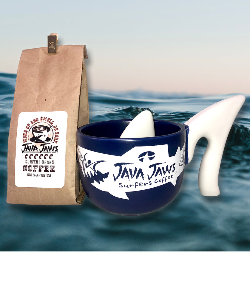 NOVELTY SHARK CUP & 4oz GROUND SAMPLER