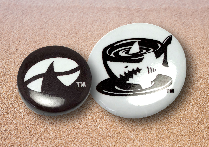 7. JAVA JAWS LOGO BUTTON / PINS