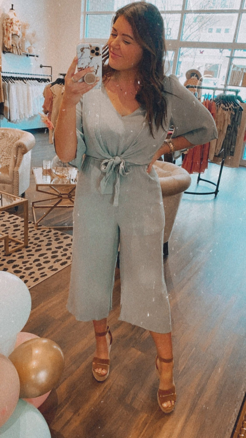 Sage Dreams Jumpsuit