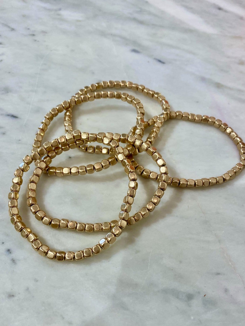 Gold Bead Stack