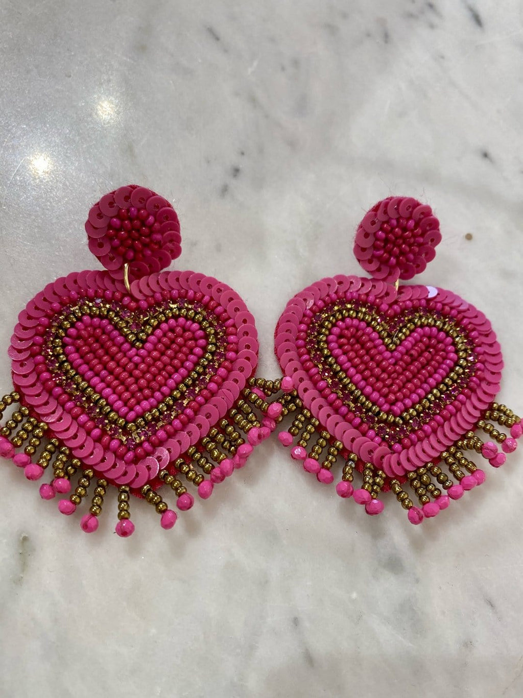 """Heart You"" Earrings"