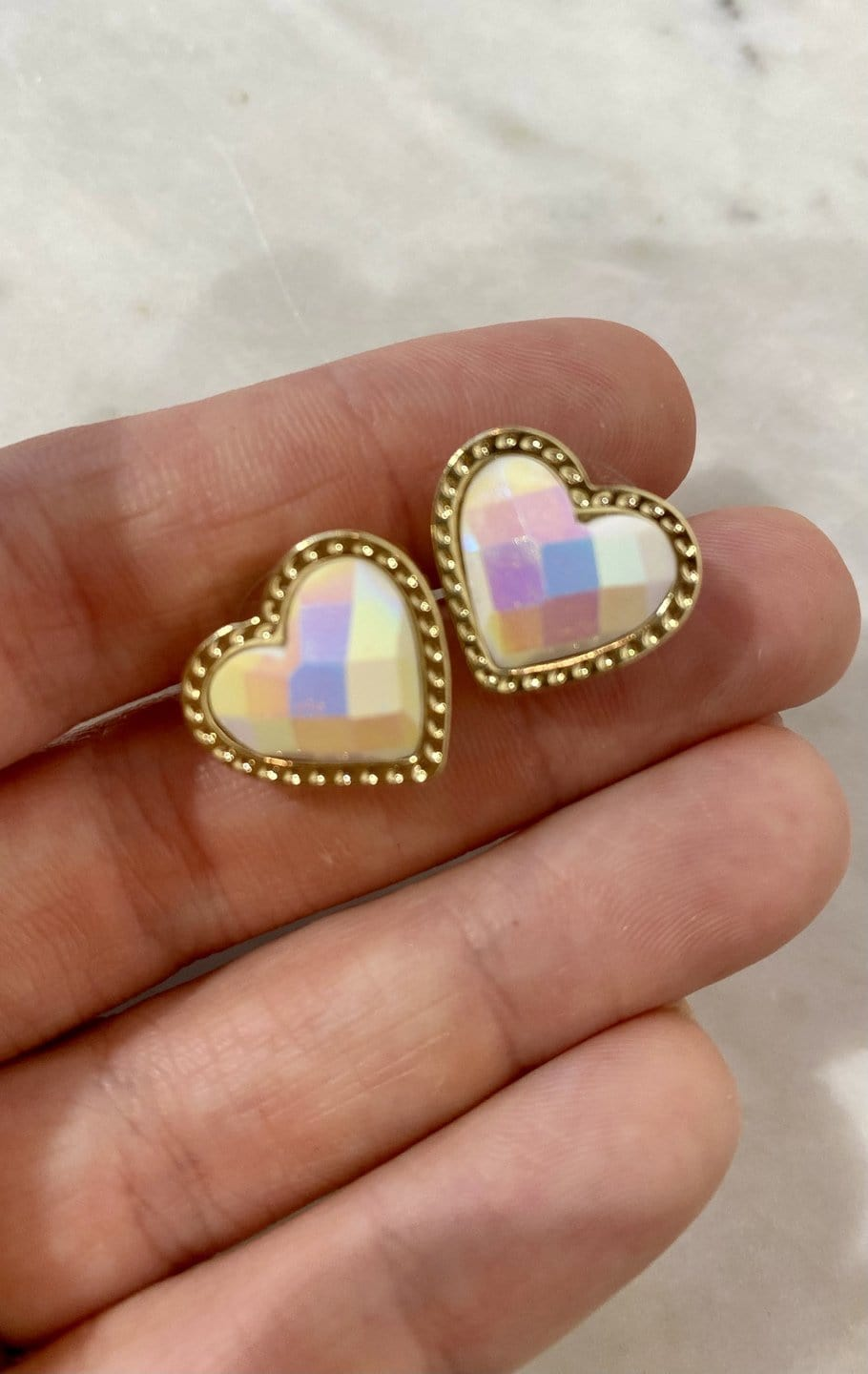 Give Me Your Heart Studs