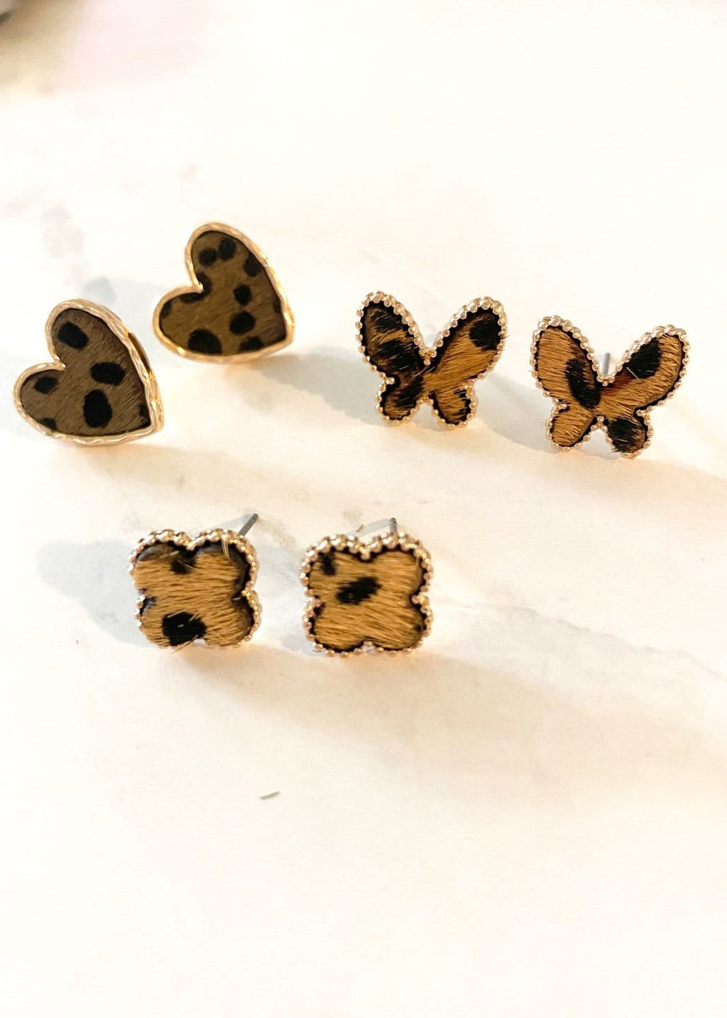 Leopard Shaped Studs