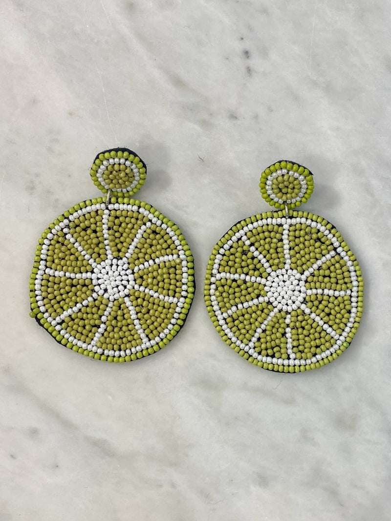 Squeeze of Lime Earrings