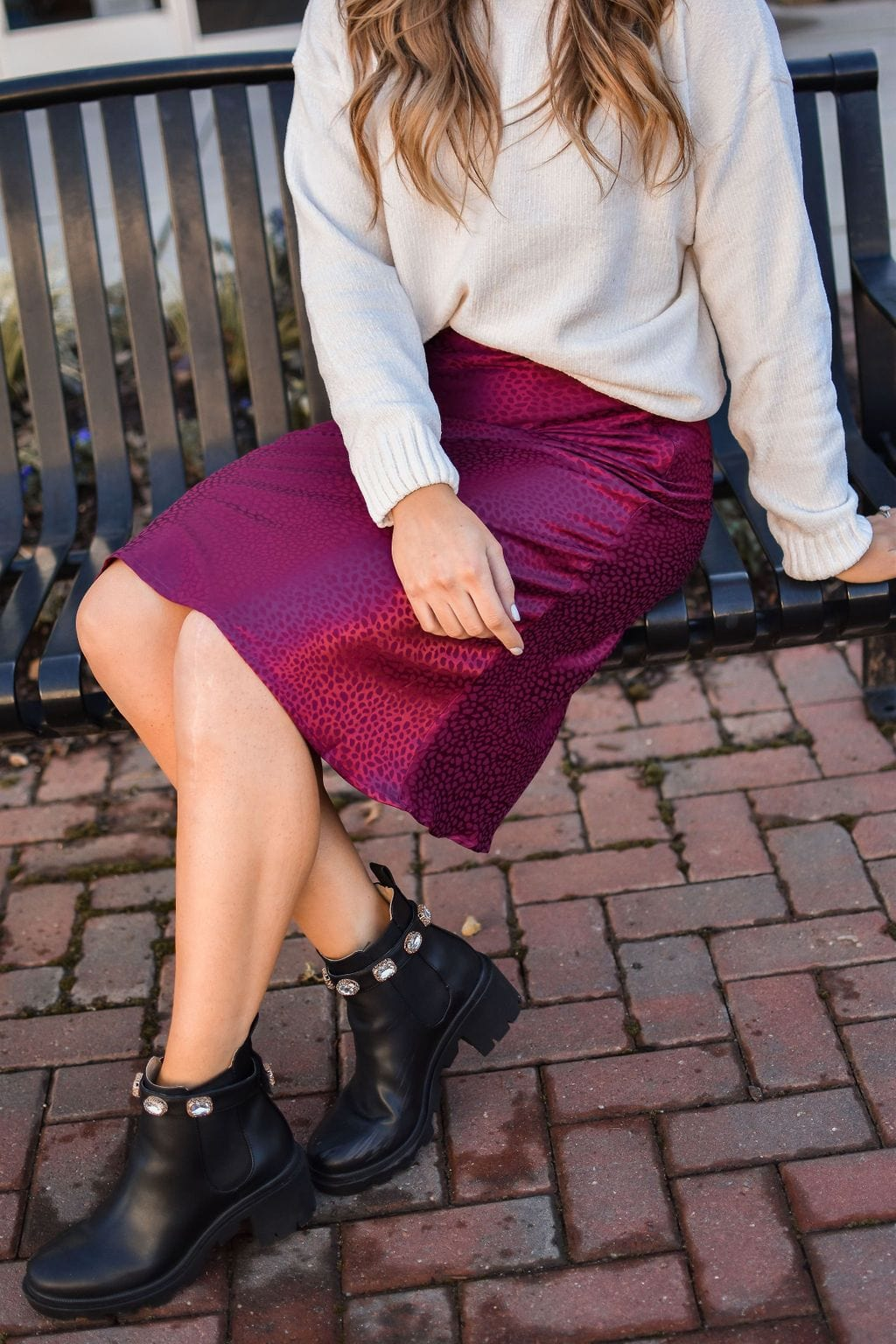 All Too Well Midi Skirt