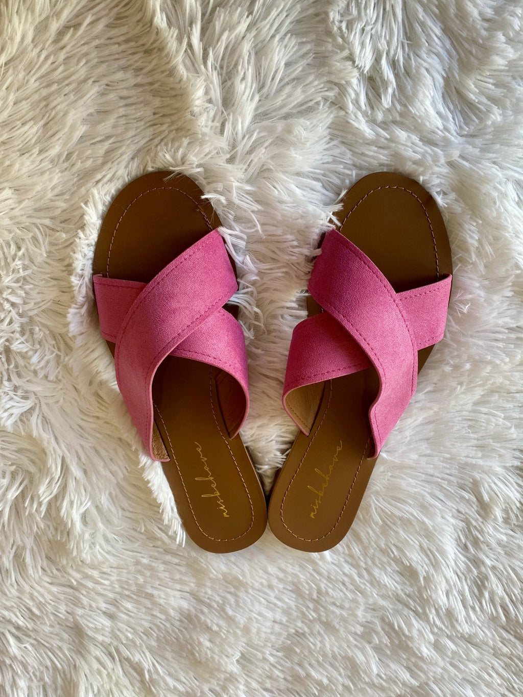 Palm Beach Slides, Fuschia
