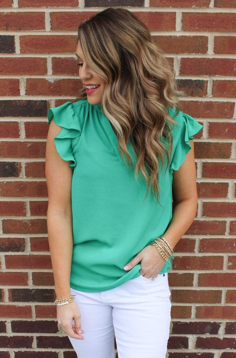 Sterling Blouse, Green