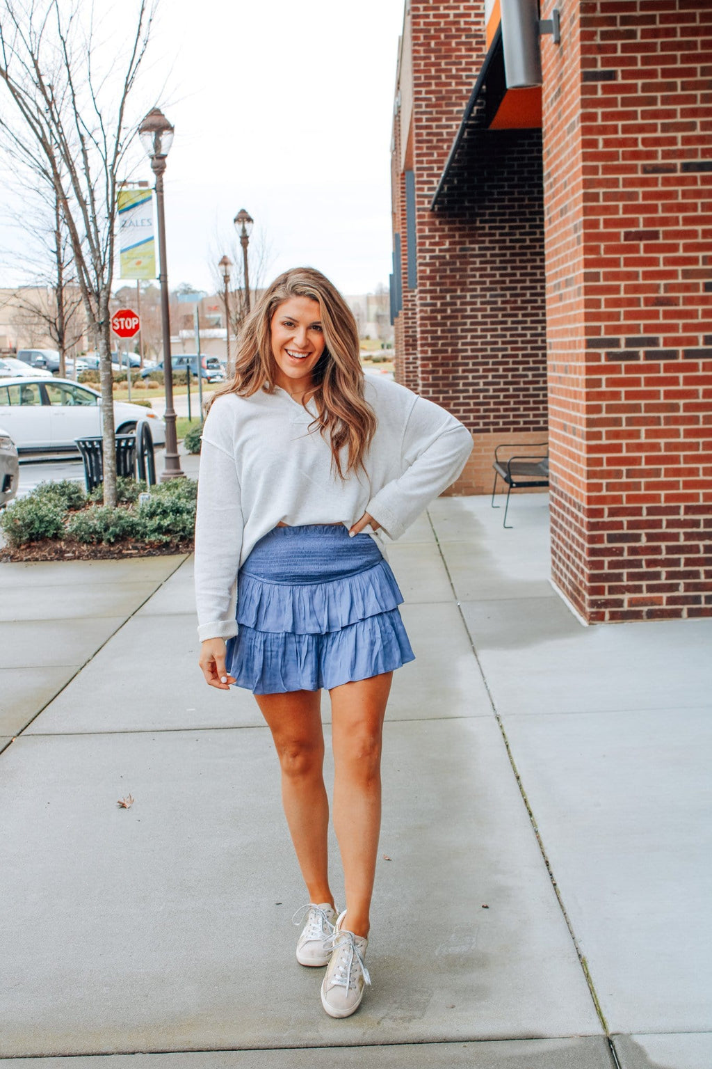 Tinsley Skort, Blue