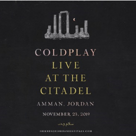Coldplay chooses Jordan to release their album