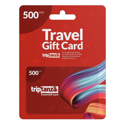 Travel Gift Cards Single Services & Tours Travel Gift Cards 500 EGP