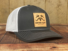 Load image into Gallery viewer, Leather Patch Trucker Hat