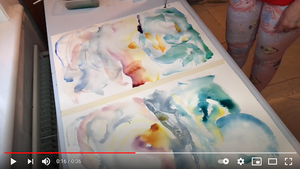 How to Paint Two Paintings in One Session