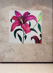 Lily painting by Stephanie Fuller