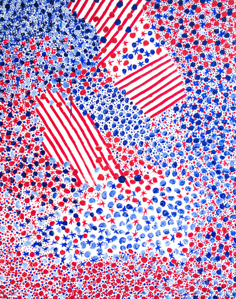4th of July 2018 Oil Painting Stephanie Fuller