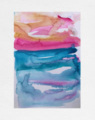 Pink Sky painting by Stephanie Fuller