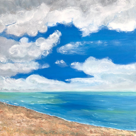 Thanet Sky Painting by Stephanie Burns