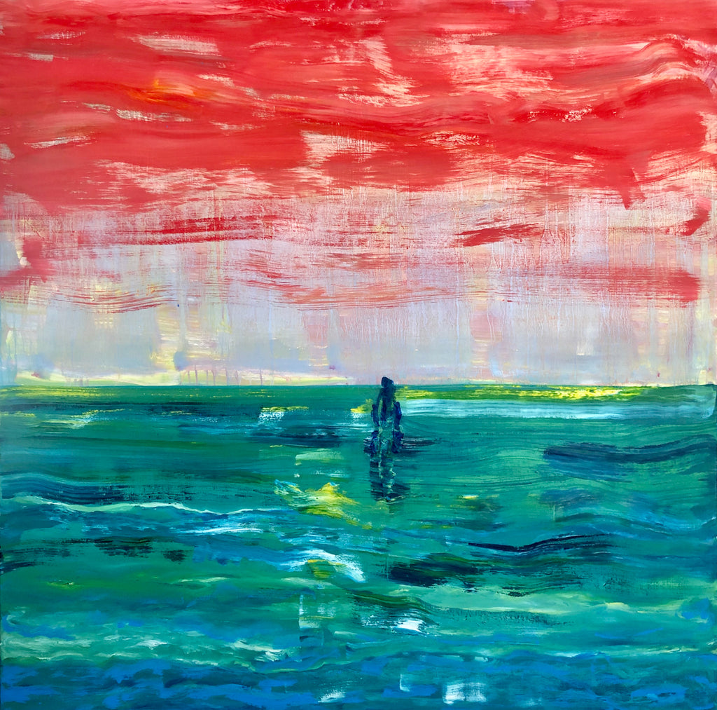 They Walk On The Road To Nowhere Painting by Stephanie Fuller