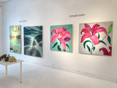 Lilium Painting by Stephanie Fuller