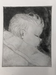 Laurence Etching 1986 by Stephanie Fuller