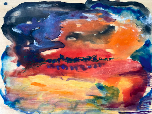 Before Sunrise Watercolour Painting by Stephanie Fuller Artist