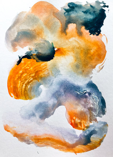 Watercolor painting by Stephanie Fuller