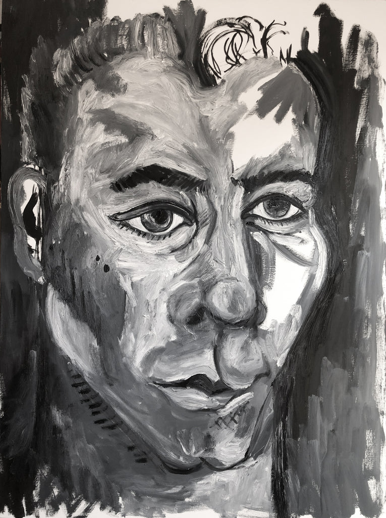 The Actor Painting by Stephanie Fuller