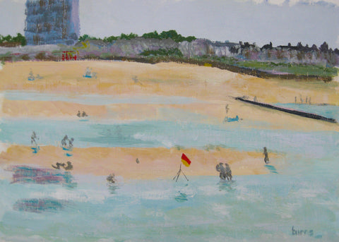 Margate from the Pier Painting by Stephanie Burns