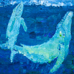 Stephanie Fuller Whale Painting