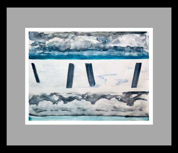 Deal Pier Painting by Stephanie Fuller Artist